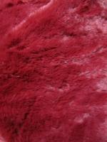 Мех искусственный щипаная норка, цвет вишневый