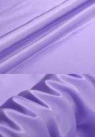 Креп-сатин, цвет лиловый