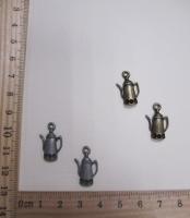 """Подвеска металлическая """"чайник"""", 18 х 12 мм."""