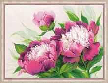 """Набор для вышивания 100/039 """"Розовые пионы"""" 40х30 см"""