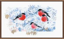 """Набор для вышивания арт.СС-1388 """"Морозное утро"""" 40х24 см"""