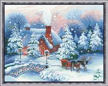 """Набор для вышивания арт.СС-100/041 """"Накануне Рождества"""" 45х35 см"""