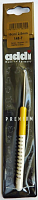 Крючок, вязальный с пластиковой ручкой, №2,5, 15 см