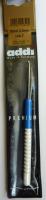 Крючок, вязальный с пластиковой ручкой, №2, 15 см