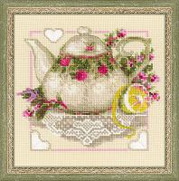 """Набор для вышивания арт.СС-1477 """"Чай с лимоном"""" 20х20 см"""