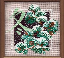 """Набор для вышивания """"Зима"""" арт.СС-814 Б 20x20 см"""