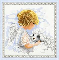 """Набор для вышивания арт.СС-1360 """"День ангела"""" 30х30 см"""