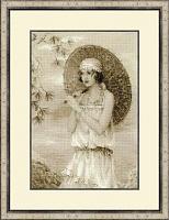 """Набор для вышивания арт.СС-1434 """"Старая фотография, Ривьера"""" 26х38 см"""