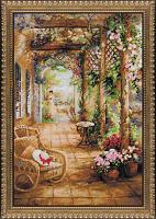 """Набор для вышивания арт.СС-100/043 """"Свидание в саду"""" 40*60 см"""