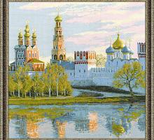 """Набор для вышивания арт.CС-1430 """"Москва. Новодевичий монастырь"""" 40х40 см"""