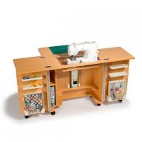 Стол раскладной для швейной машины GEMINI, бук