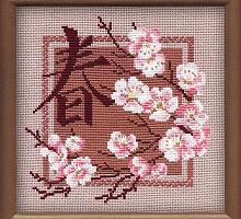 """Набор для вышивания арт.СС-812 Б """"Весна"""" 20x20 см"""