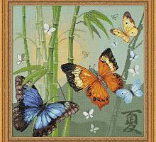 """Набор для вышивания арт.СС-1336 """"Бабочки"""" 35х35 см"""