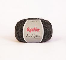Пряжа AIR ALPACA цвет 211 серый