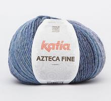 Пряжа Azteca Fine  (Ацтека Файн) 210 голубой