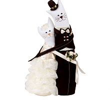 """Miadolla"" C-0152 Коты-обнимашки свадебные"